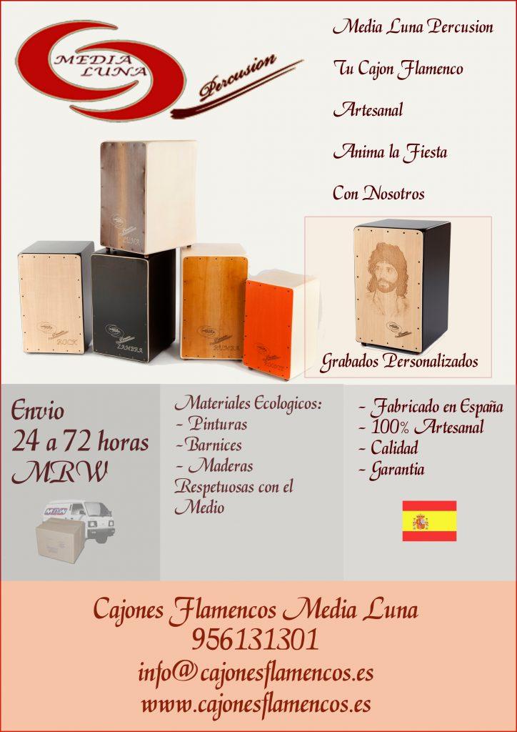 Personalizar Cajon Flamenco