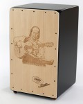 Cajon Flamenco Paco Lucia + Funda: Media Luna Percusion