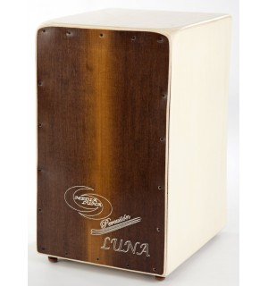 Cajon Flamenco Luna Pro + Funda: Media Luna Percusion
