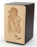 Cajon Flamenco Barrio + Funda: Media Luna Percusion