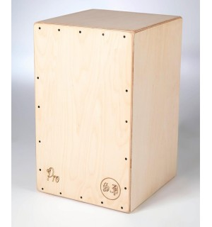 Cajon Flamenco Sicolo PRO + Funda: Media Luna Percusion