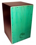 Cajon Flamenco Zambra Verde: Media Luna Percusion