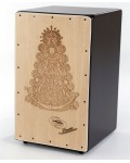 Cajon Flamenco Virgen + Funda: Media Luna Percusion