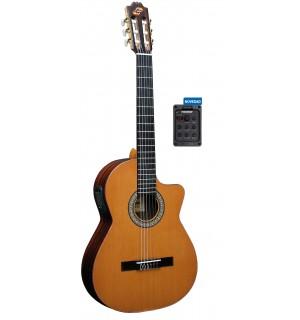 """Guitarra """"ADMIRA"""" Virtuoso Electrificada Cutaway FISHMAN"""
